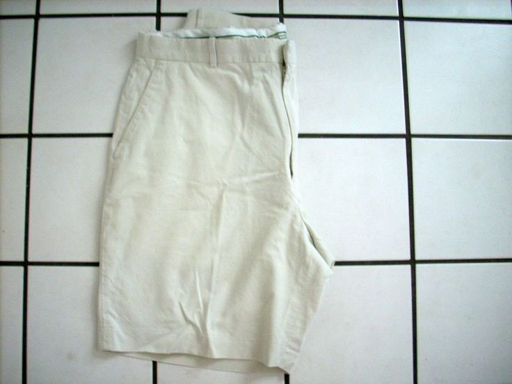 MEN'S FAIRWAY & GREENE TAN KHAKI GOLF CASUAL SHORTS SIZE 36 #FAIRWAYGREENE