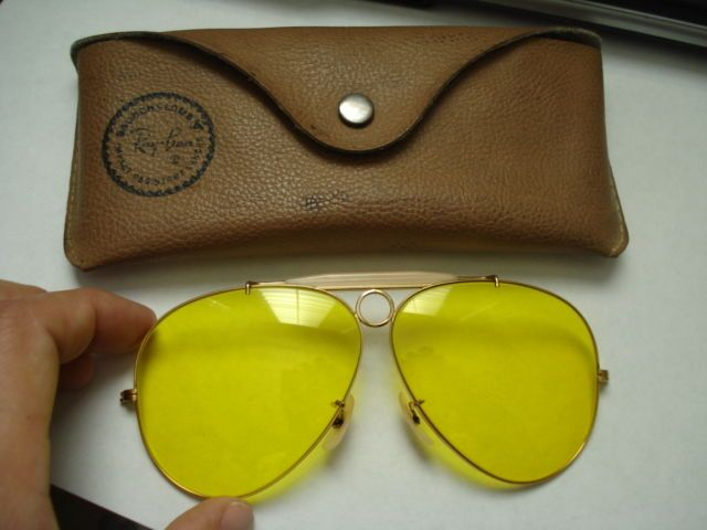 Vintage nos Bausch & Lomb B&L Ray Ban shooter kalichrome Sunglasses  no arms #RayBan