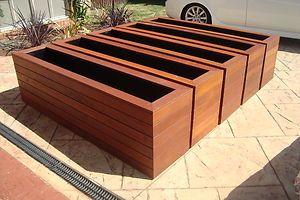 Merbau Planter Boxes in Melbourne, VIC | eBay