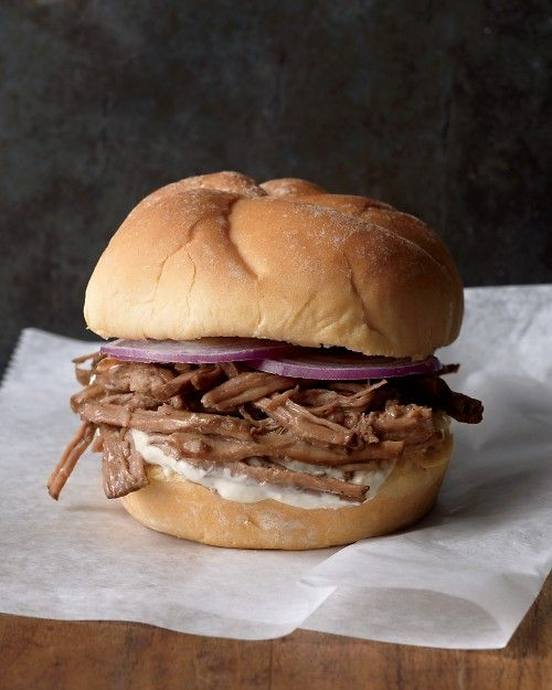 Easy Shredded Beef Chuck Roast can be made in the oven or the slow-cooker