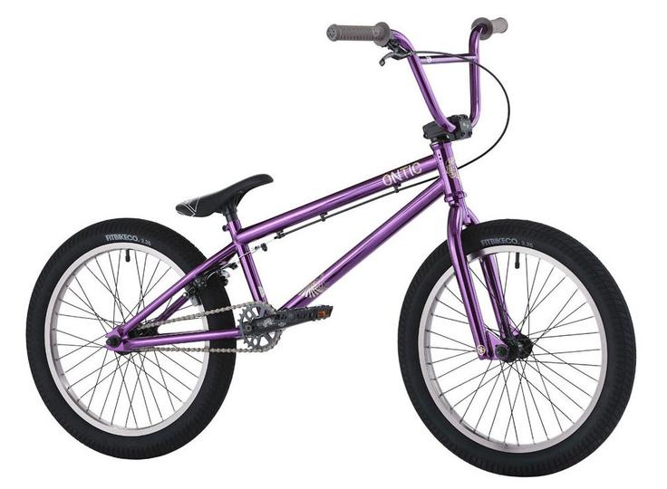 Hoffman Ontic El Bmx Bike Ed Purple 20 Quot Bikes
