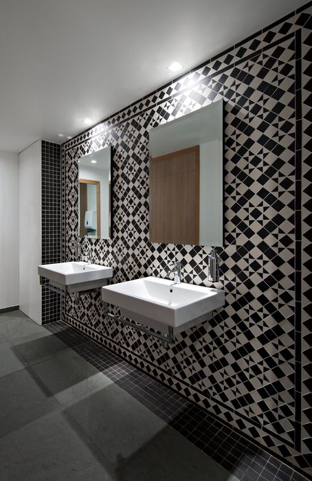 Restaurant And Bar Design Awards   Entry 2011/12 What A Creative Way To Use  · Bathroom Wall TilesBathroom ...