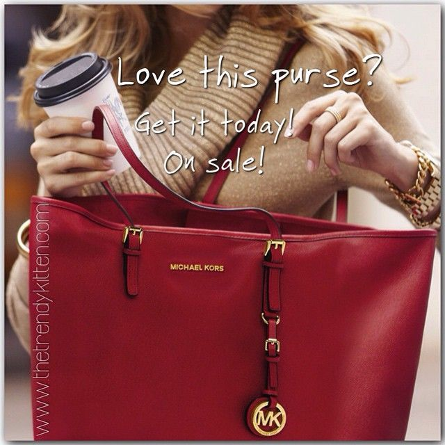 ... Michael Kors Jet Set Saffiano Travel Large Red Totes Makes You Elegant  And Stylish bfb53582146