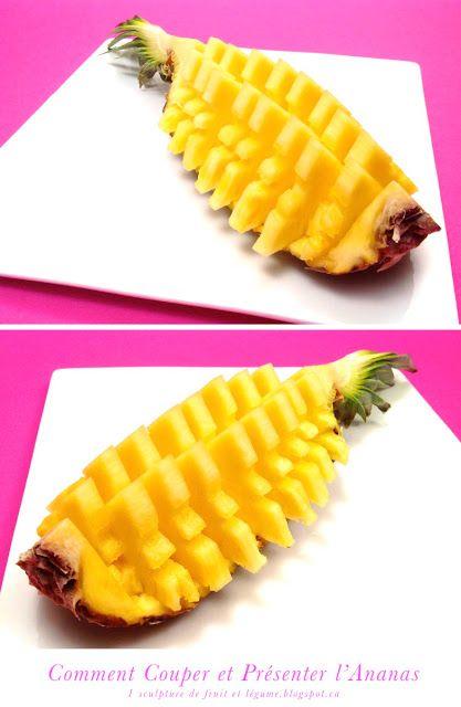 Comment Couper et Servir un Ananas