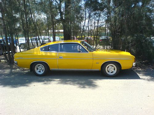 I owned one of these in the 70s a Valiant Charger with a Chrysler Hemi 318 V8 engine.
