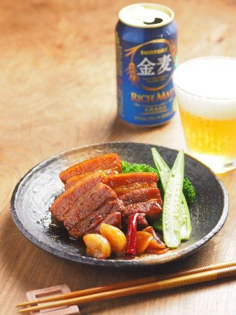 Coke Boiled Pork Belly