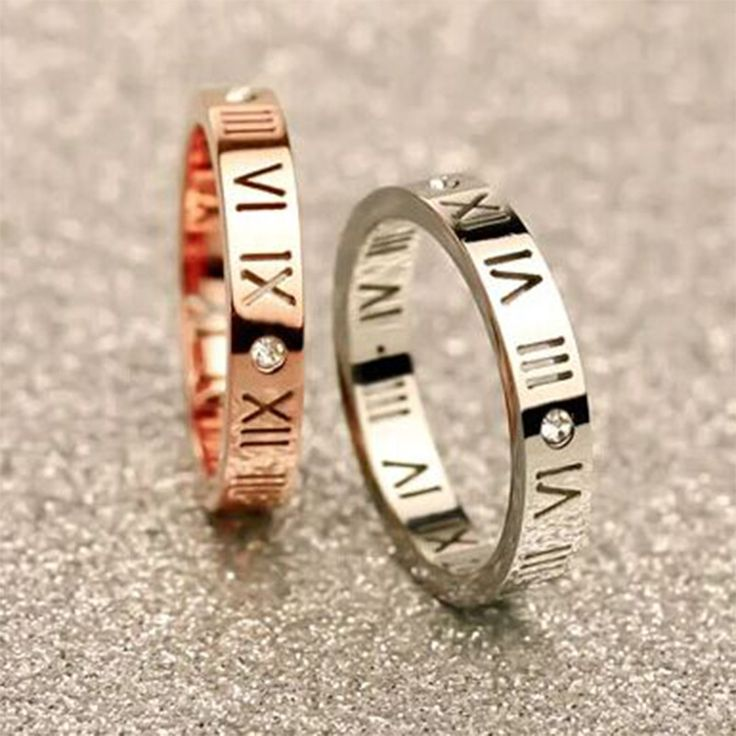 Classic Elegant Rose Gold Silver Stainless Steel Ring Titanium Triple Ring Trinity Carter Jewelry For Women Female Anel Bijoux