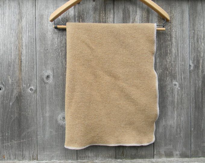 "Upcycled 100% Wool Puddle Pad Changing Mat Puddle Mat Travel Mat Crib Protector Camel Color 23"" X 24"""