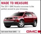 The 2011 GMC Arcadia Crossover. Sweet.