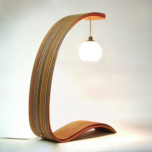 17 Best Images About Wooden Floor Table Lamps On Pinterest