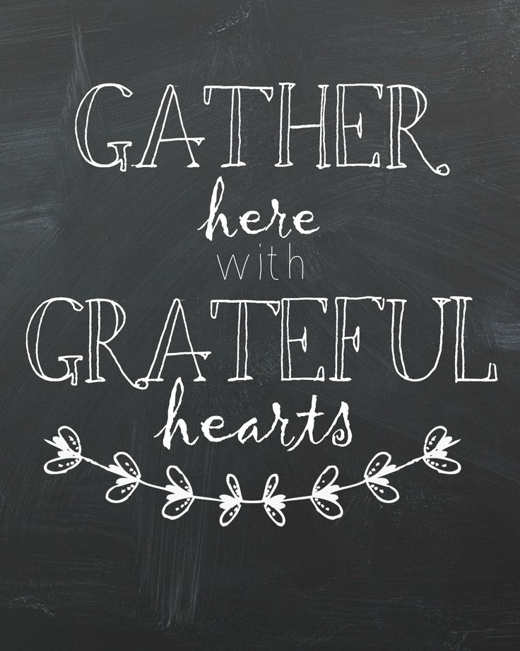 Gather Here with Grateful Hearts #Thanksgiving #family <3