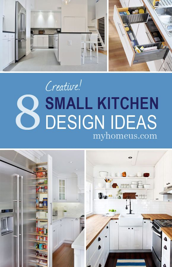 8 Creative Small Kitchen Design Ideas. 80 best images about MyHome Blog on Pinterest   Kitchen sinks
