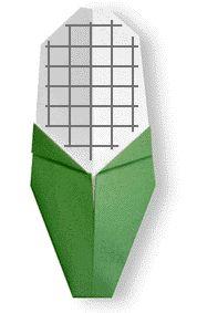 Origami Sweet Corn