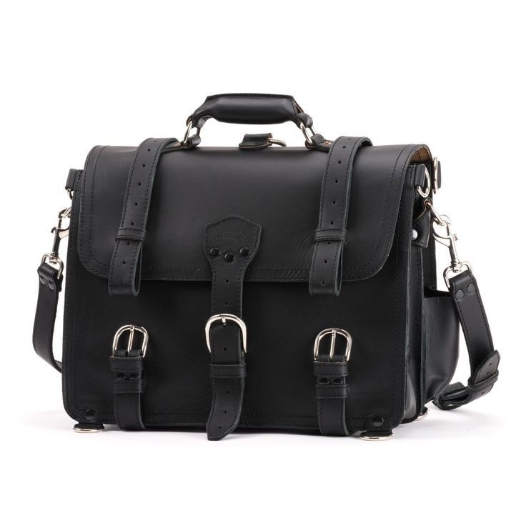 Saddleback Leather Classic Briefcase - The Original 100% Full Grain Leather Executive Briefcase Bag with 100 Year Warranty