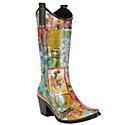 Wait...they make cowboy rain boots?!? Why didn't anyone tell me!?