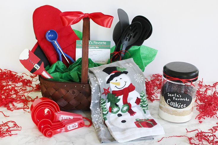 1000 ideas about baking gift baskets on pinterest diy for Christmas kitchen gift basket ideas