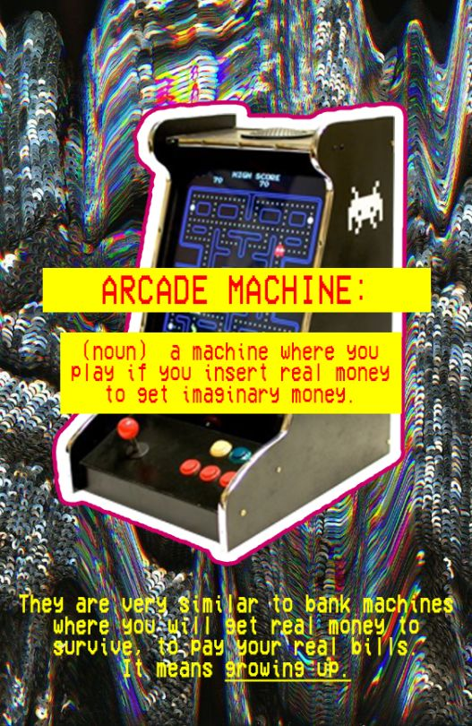 Arcade Machine - RØSH #collage #collageart #artcollage #newartist #newtalents #newtalent #juventudartista #contemporanyart #arte #art #artecontemporaneo #digitalart #artedigital #photoshopart #photoshop #colours #colores #vintage #neovintage #vintagecollage #arcade #machine #arcademachine #play #game #juego #juegos #pacman #bottom #definition #definicion #growup #grow #up #crecer #youth #juventud #epic #epico #original