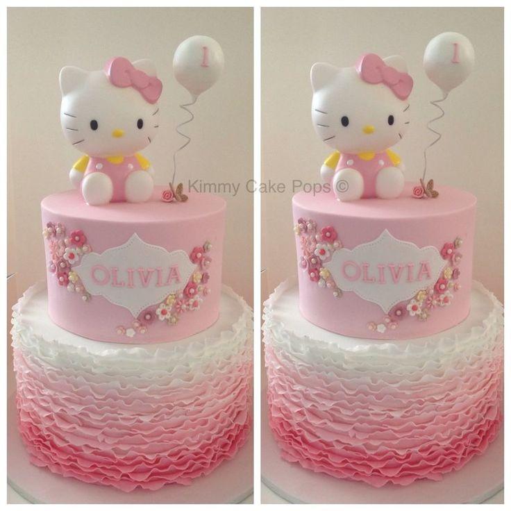 Birthday Cakes Hello Kitty Children