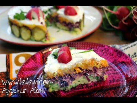 97 best turkey images on pinterest cooking food turkish food 24 colored potato cake salad aysenur altan turkish food recipes youtube forumfinder Gallery