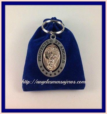 Llavero del Angel-accesorios productos de angeles-figuras de angeles-tienda de angeles-pulseras de angeles-pulseras de arcangeles-productos del arcangel-ritual del arcangel miguel-pulsera de los 15 arcangeles-pulsera de sanacion-amuleto del angel-