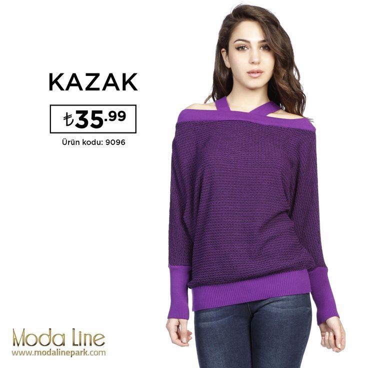 Kurtarıcı mor triko kazakve siyah renk seçeneğiylehttp://goo.gl/yLrxIA KAZAK: 35.99 tL http://goo.gl/CVnUDx
