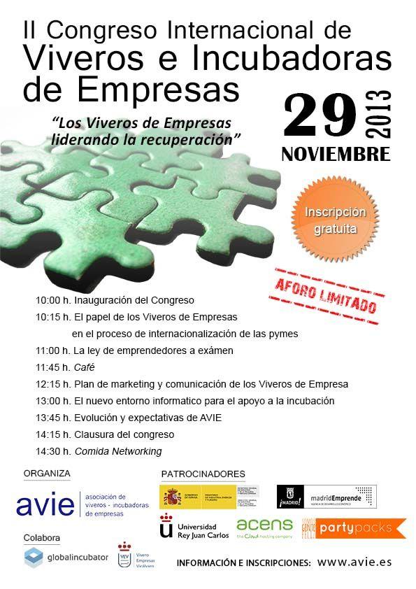 Congreso Internacional de Viveros e Incubadoras