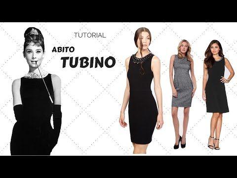 GONNA A TUBINO- lezione 1- TAGLIO SUL TESSUTO. - YouTube