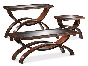 Accent and Occasional Furniture-The Embrace Collection-Embrace Cocktail Table