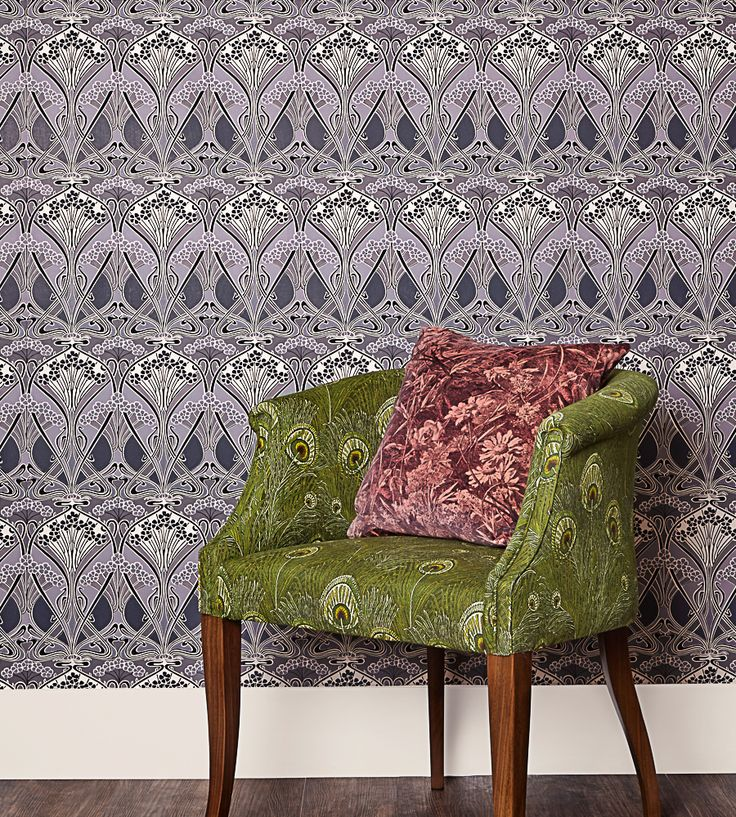 Liberty Wallpaper | New this week | Ianthe Flower Wallpaper by Liberty Art Fabrics | Jane Clayton