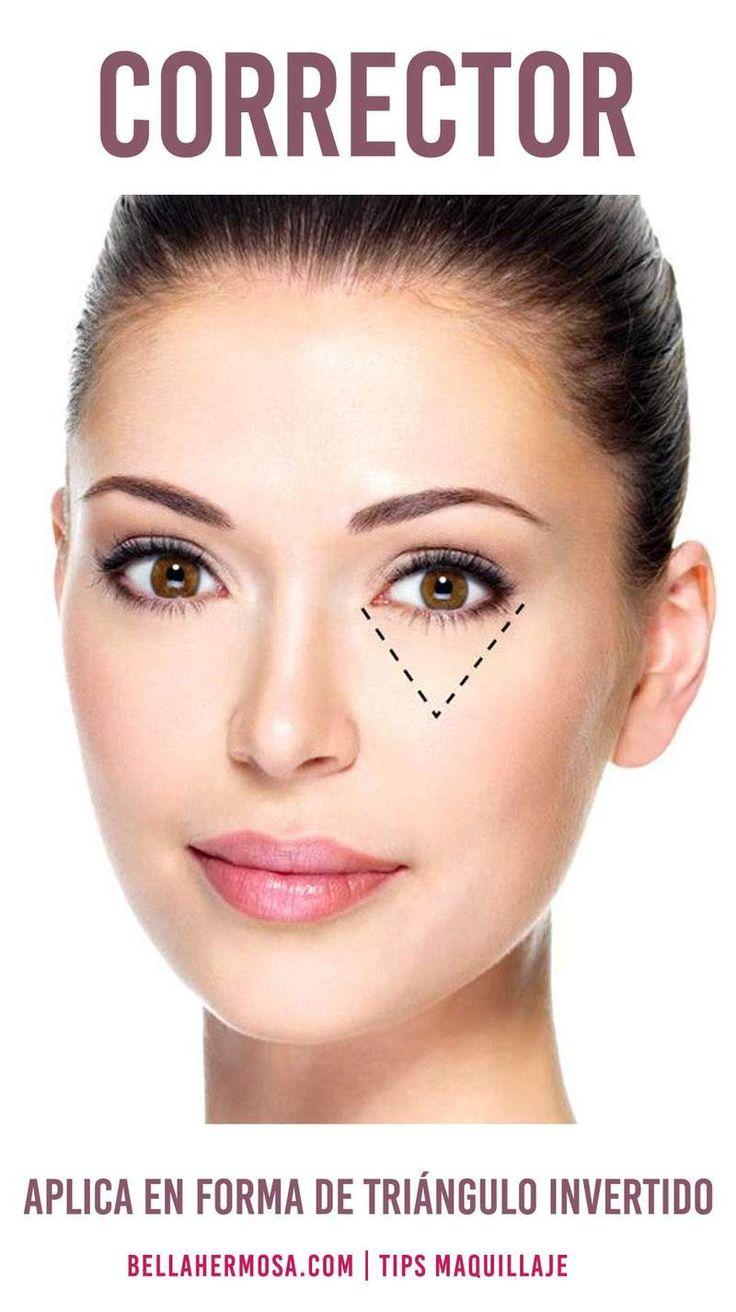 Guía Completa Sobre los Correctores de Maquillaje Y Sus Usos-trucos
