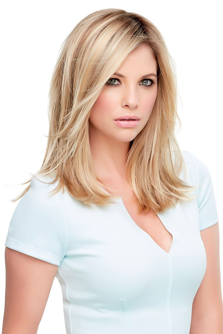 Top Secret - This clip in topper integrates easily with your own hair at the crown to add body and volume. The 9-inch monofilament base is virtually invisible. It comes in the largest available base and is great for advanced stages of hair loss. Comes in  Remy Human Hair