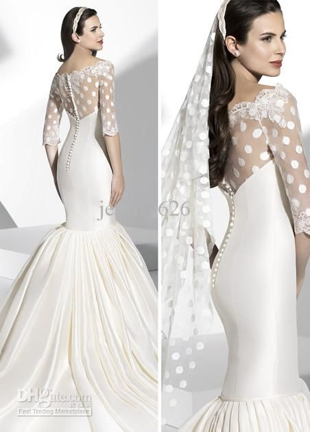 65 best images about Mermaid Wedding Gowns on Pinterest ...