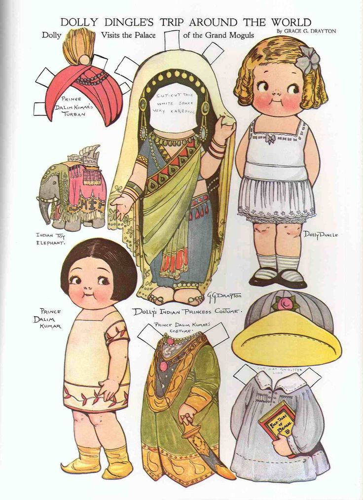 Paper Toy Print Outs | Paper dolls and other paper toys | Nice paper things to print out and ...