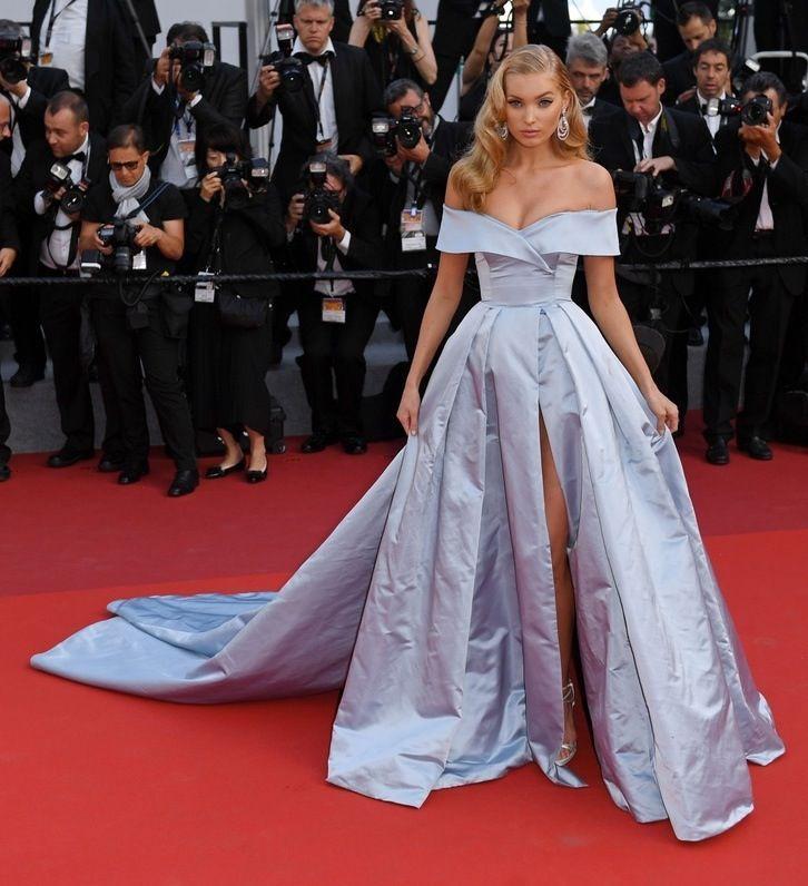 "Cannes 2017: Elsa Hosk w sukni Alberta Ferretti na premierze filmu ""The Beguiled"""