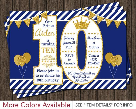 51 best Prince Birthday Party images – Costco Birthday Invitations