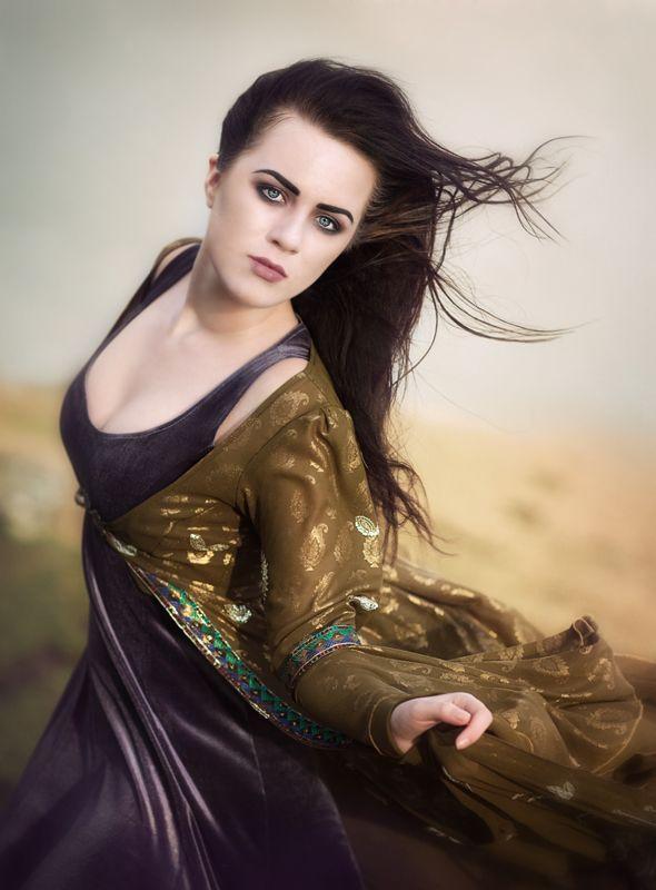 Sari Dress - Gothic, romantic, steampunk clothing from The Dark Angel