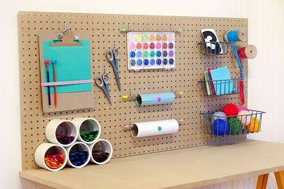 Keuken Werkbank Maken : DIY Craft Desk Kids
