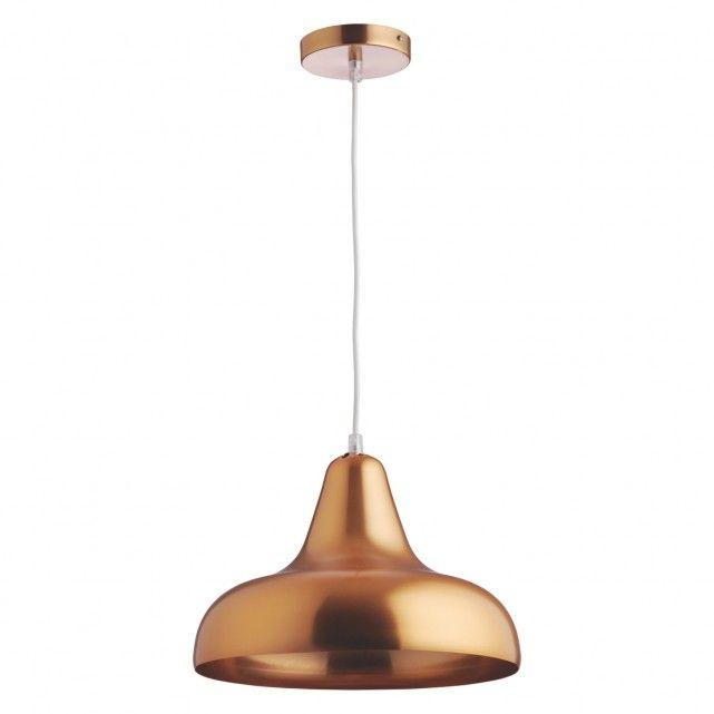 AERIAL Copper brushed metal ceiling light
