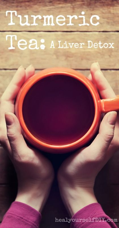 Turmeric Tea: A Liver Detox Tea ........ Turmeric is a powerful liver cleansing spice. Incorporating it into your nutrition will help support and detoxify your liver and provide potent anti-inflammatory benefits ........