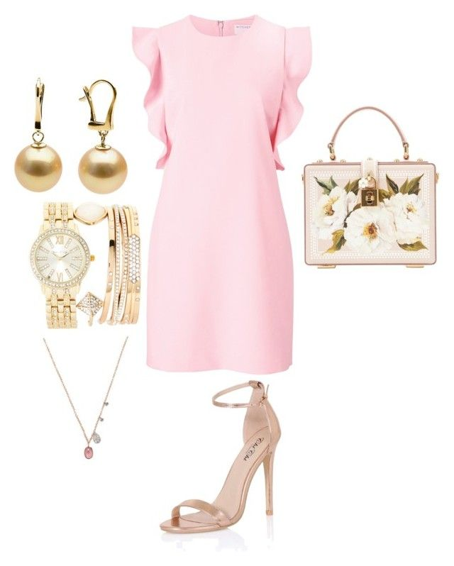 """""""Untitled #2"""" by gaulosaturne on Polyvore featuring Witchery, Chi Chi, Jessica Carlyle, Meira T and Dolce&Gabbana"""