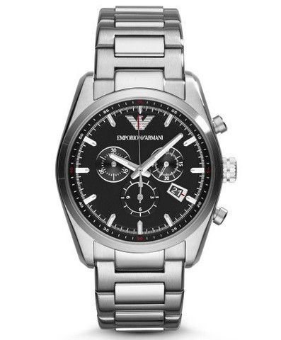 Emporio Armani Tazio Sportivo Chrono Watch AR6050 Campbell Jewellers Dublin Ireland