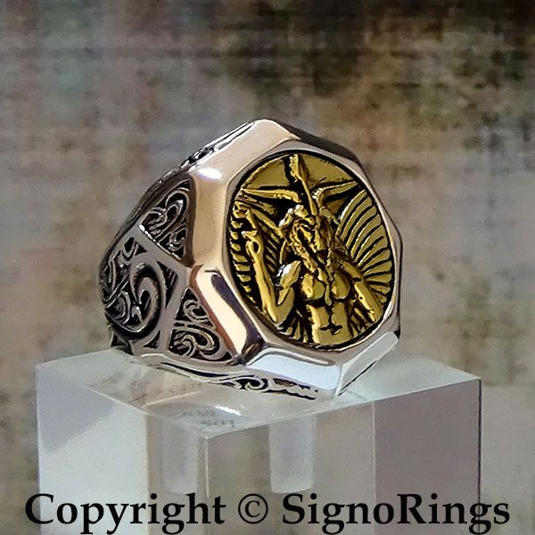 17 Best Images About Occult Religions Handcrafted Rings On