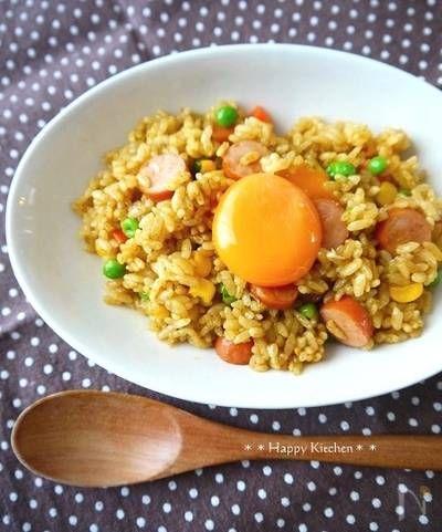 レンジで3分!夏休みランチにカレーピラフ by たっきーママ | レシピサイト「Nadia | ナディア」プロの料理を無料で検索