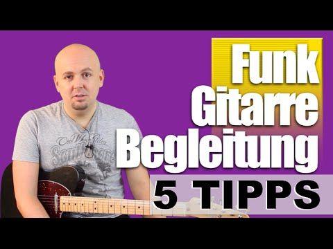 Gitarre lernen für Anfänger - Gitarre Schlagtechnik - Gitarre Schlagmuster - YouTube