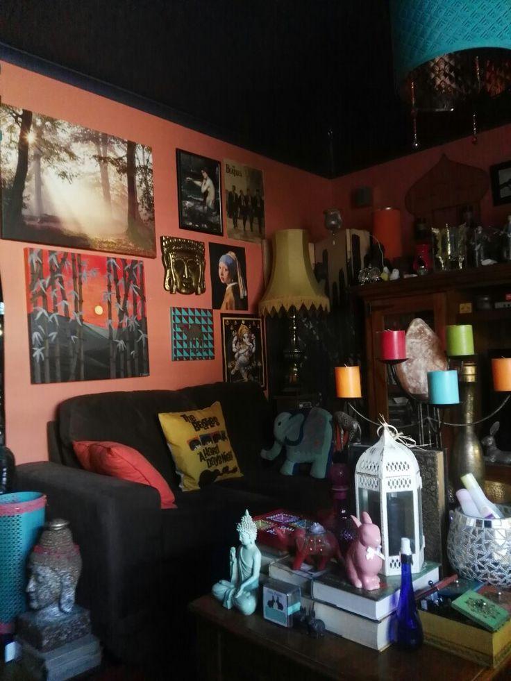 My boho space