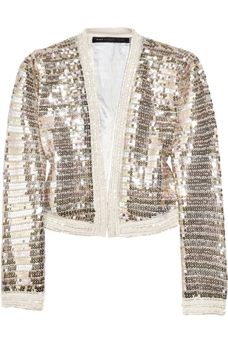 Marc by Marc Jacobs Dee Dee sequined wool bolero $500