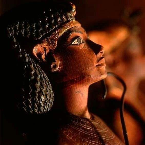 Maia,the nurse of Tutankhamun Museum of Luxor.