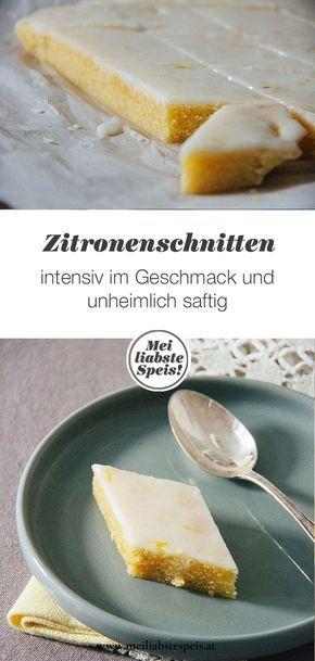 Fatias de limão incomparavelmente suculentas ou para onde vai?   – Backen