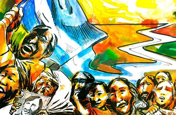 Especial 24 de marzo: Día Nacional de la memoria por la verdad y la justicia El golpe de Estado de 1976, encabezado por Videla, Massera y Agosti, dio inicio a la etapa más oscura de la historia argentina. En este día se reivindican la memoria colectiva y la plena defensa de los Derechos Humanos.