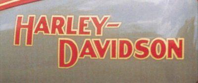Harley tank badge